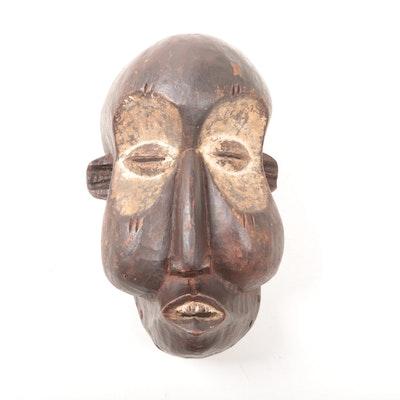 Wooden Yaka Suku Style Mask