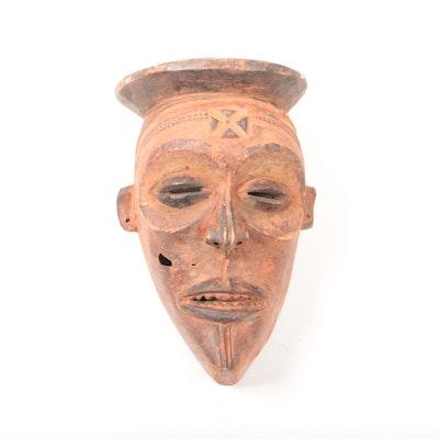 Wooden Chokwe Style Mask