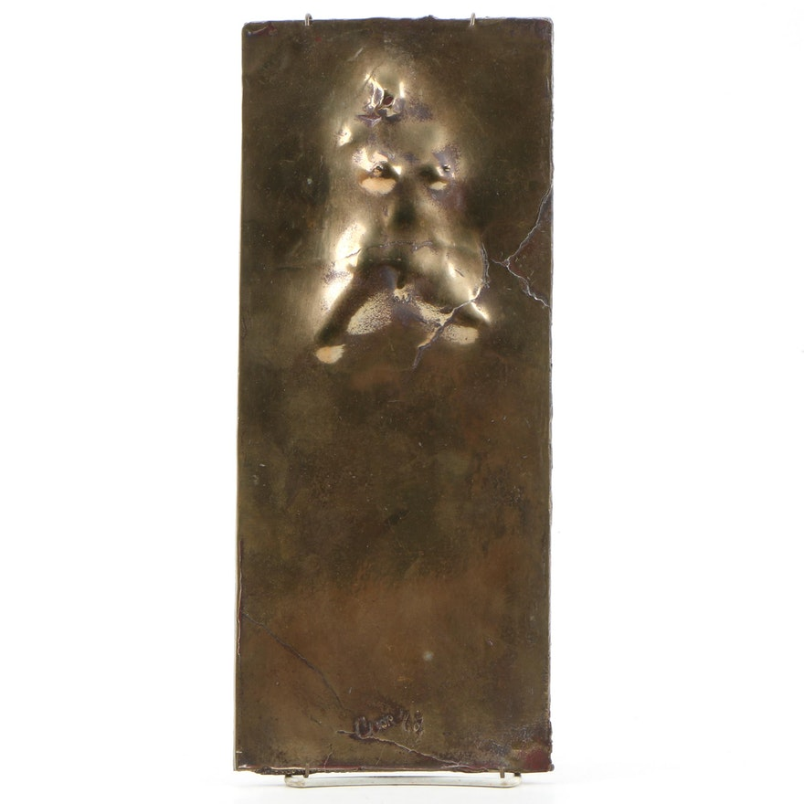 Robert L. Coon Cast Bronze Relief Sculpture