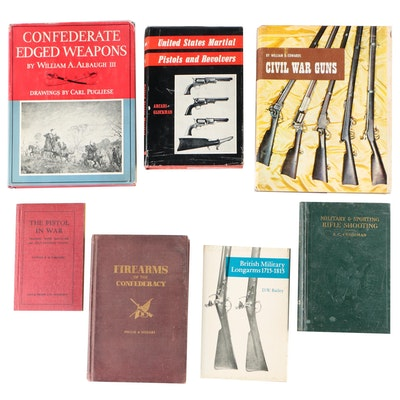 """Firearms Books including Signed """"Civil War Guns"""" by William B. Edwards, 1962"""