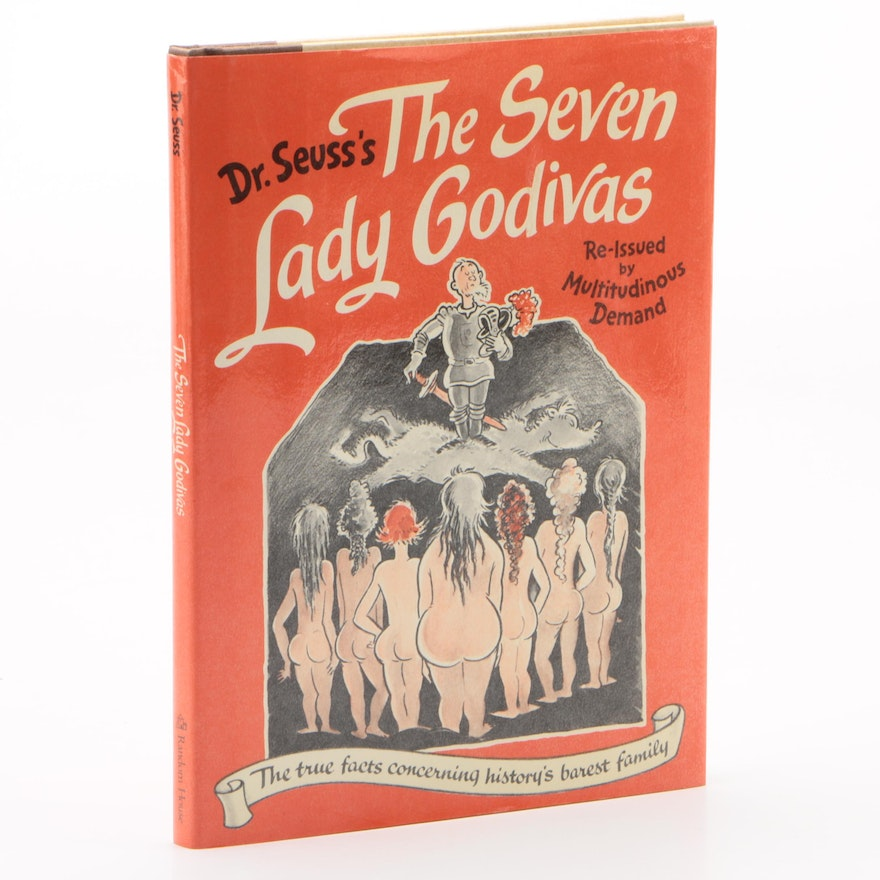 """1987 First Reissue Edition """"The Seven Lady Godivas"""" by Dr. Seuss"""