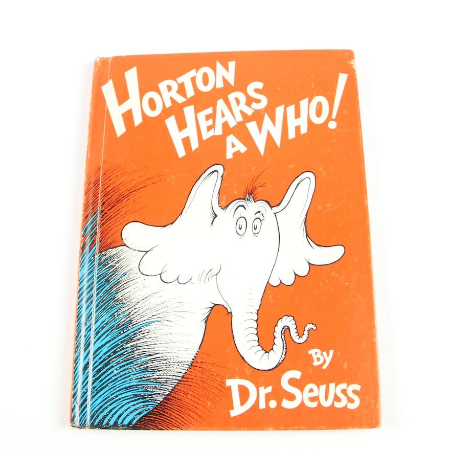 """""""Horton Hears A Who!"""" by Dr. Seuss, Circa 1965"""