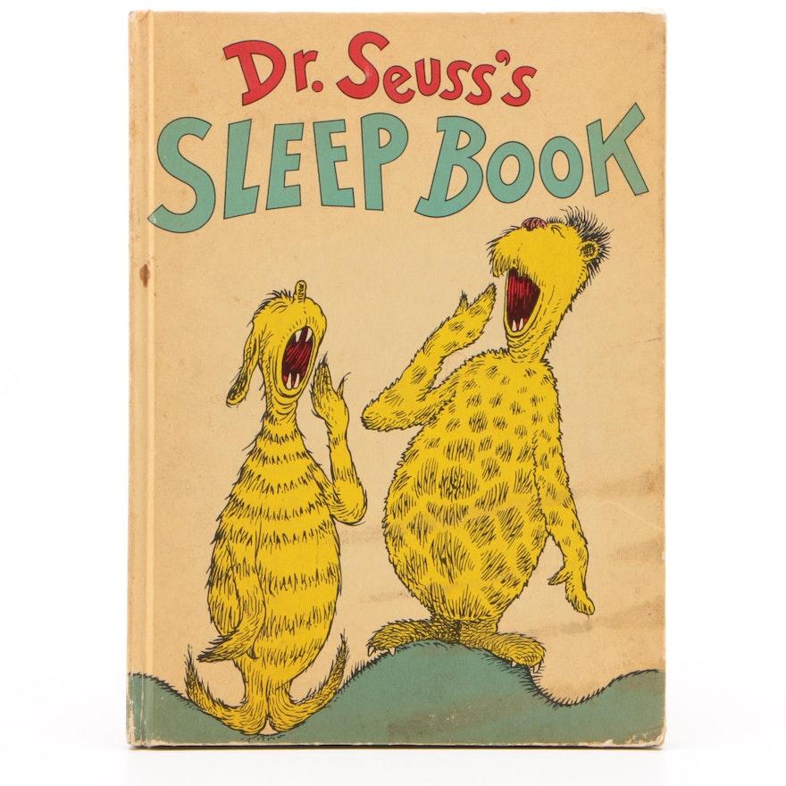 """1962 """"Dr. Seuss's Sleep Book"""" by Dr. Seuss"""