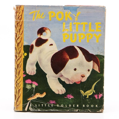 "1944 Sixth Printing ""The Poky Little Puppy"" by Janette Sebring Lowrey"