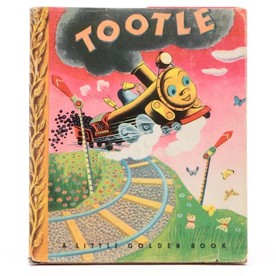 "1945 First Printing ""Tootle"" by Gertrude Crampton"