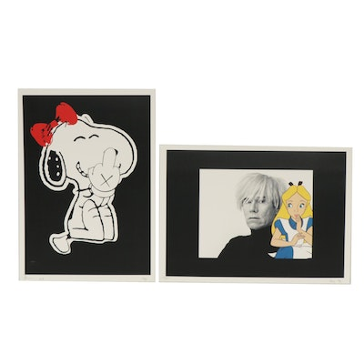 Death NYC and Missing Piece Graphic Prints of Snoop, Alice, and Warhol