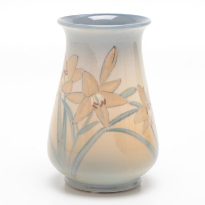 Kataro Shirayamadani Rookwood Pottery Iris Glaze Vase, 1946