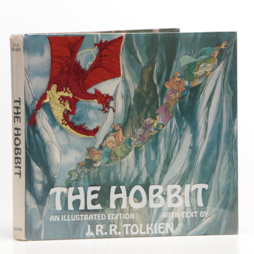 """The Hobbit"" Rankin & Bass Illustrated Edition 1977"