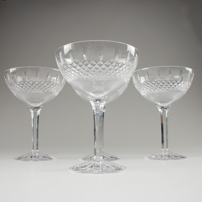 "Waterford Crystal ""Castlemaine"" Margarita Glasses"