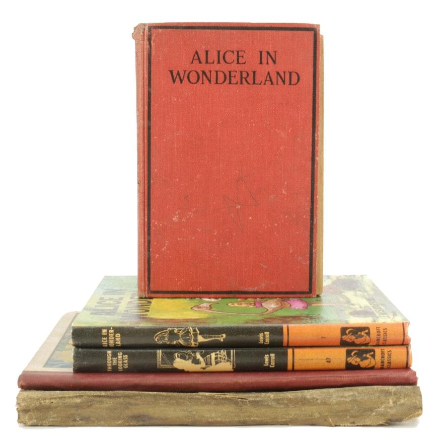 """Vintage Lewis Carroll """"Alice"""" Books"""
