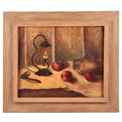H. R. Mozer Still Life Oil painting