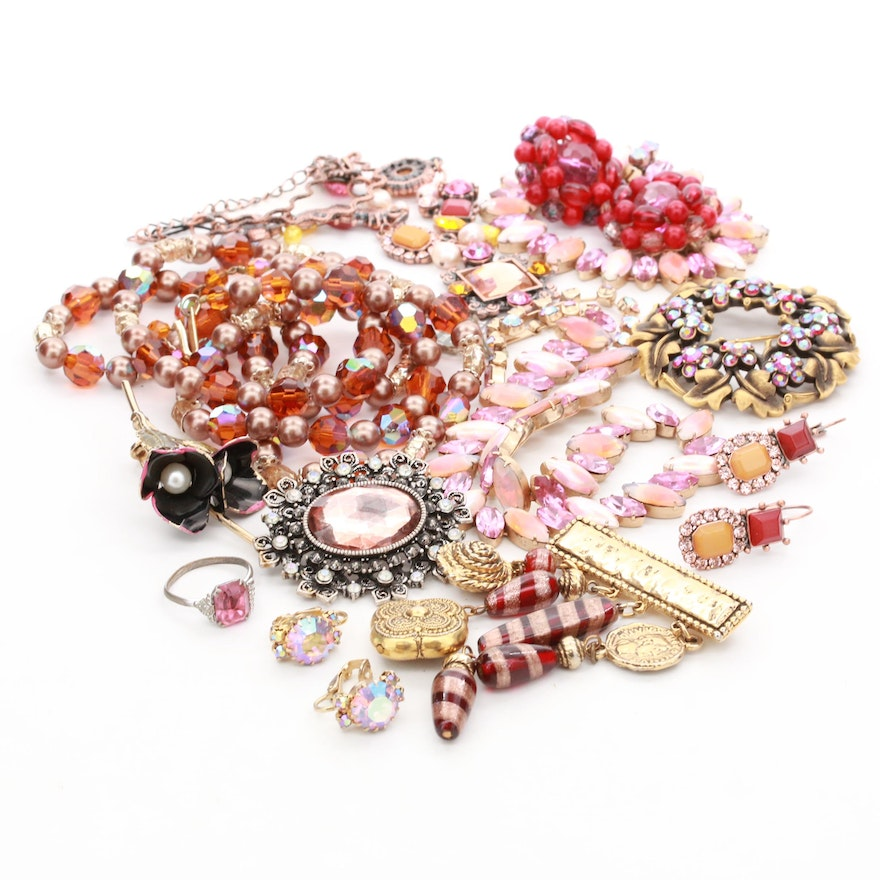 Assorted  Jewelry Featuring Felicia and Crown Trifari