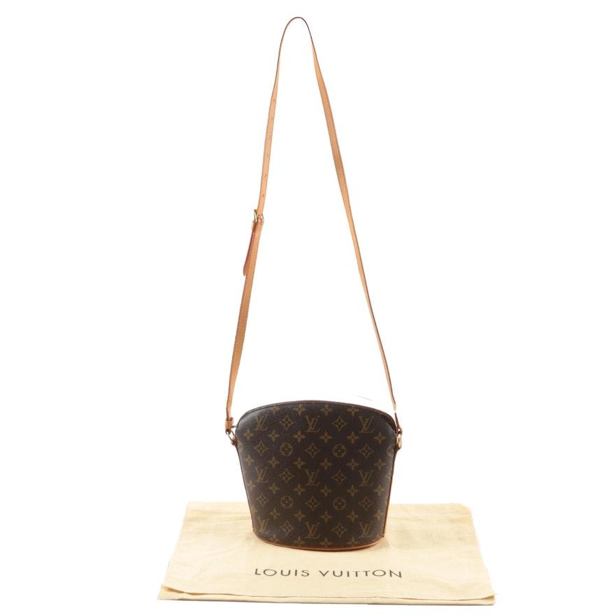 Louis Vuitton Paris Drouot Crossbody in Monogram Canvas and Leather