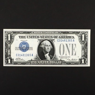 "Series 1928 ""Funny Back"" One Dollar Silver Certificate"