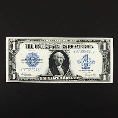Series of 1923 Blue Seal One Dollar Silver Certificate