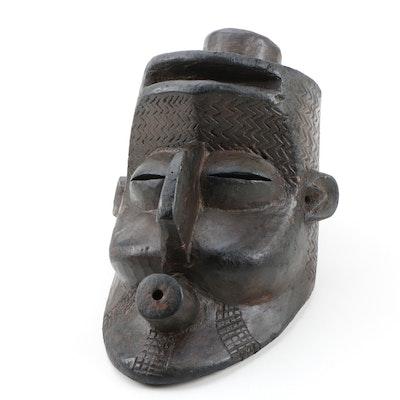 Decorative Wooden Bena/Kete Style Mask