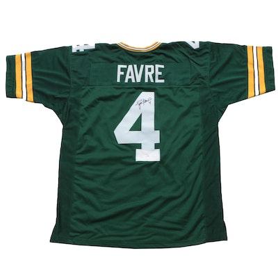 Brett Favre Signed Green Bay Packers Replica Jersey  COA