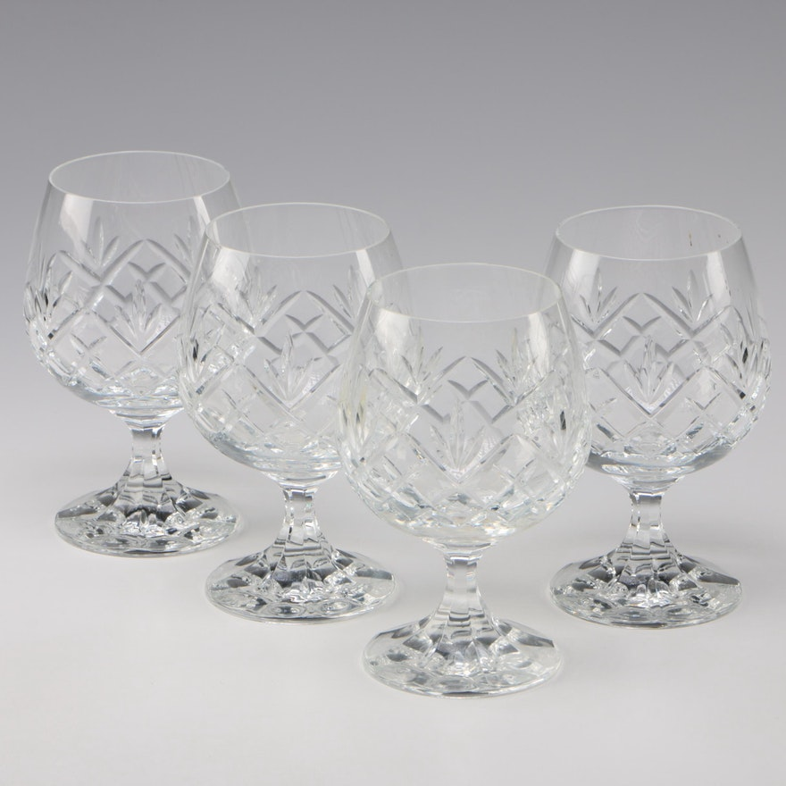 Crystal Brandy Snifters, Late 20th Century