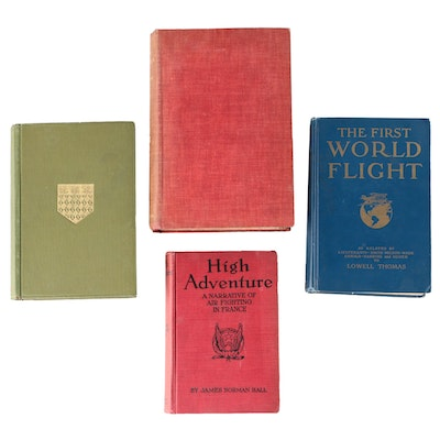 "Aviation Books including ""The Old Flying Days"" by Major C. C. Turner, 1927"