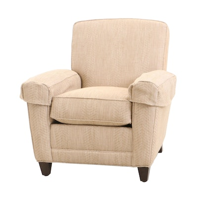 Ethan Allen Upholstered Arm Chair, Contemporary