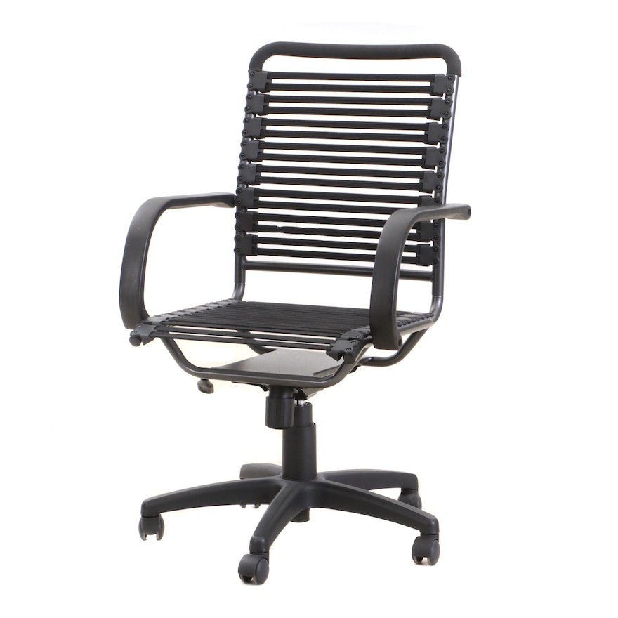 Euro Style Inc Bungie High Back J Arm Office Chair, Contemporary