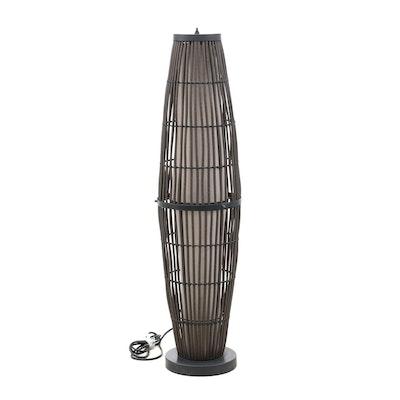 Indoor/Outdoor 4-Setting Floor Lamp, Contemporary