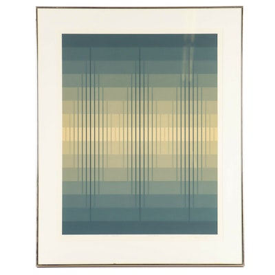 "Brian Halsey Serigraph ""2nd State Triptych"""