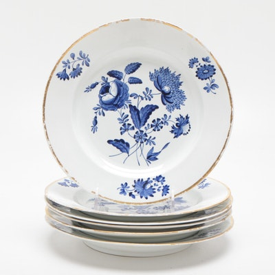 Royal Crown Derby Porcelain Soup Bowls
