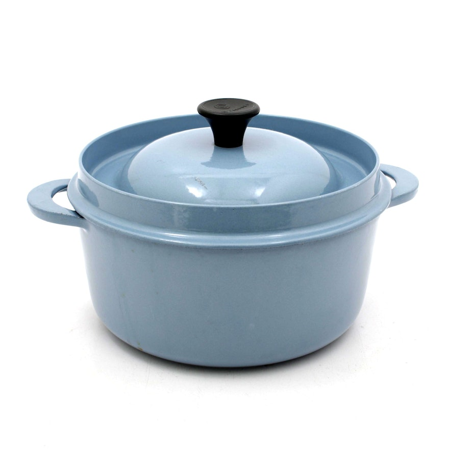 "Le Creuset ""Cuisine Royale"" Cast Iron Dutch Oven, Vintage"