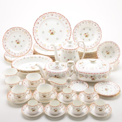 "Wedgwood ""Bianca"" Williamsburg Collection Bone China Dinnerware and Serveware"