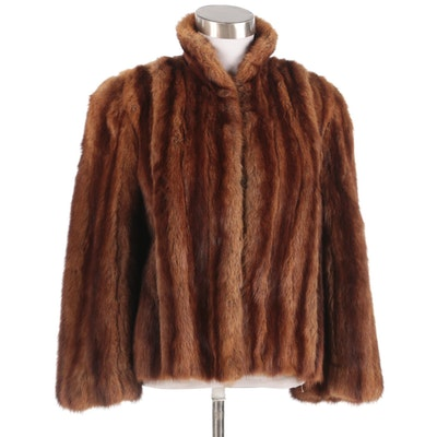 Women's Squirrel Fur Jacket, Mid-20th Century Vintage