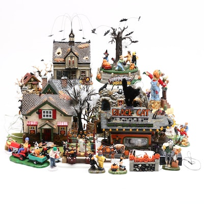 Department 56 Halloween Houses and Accessories