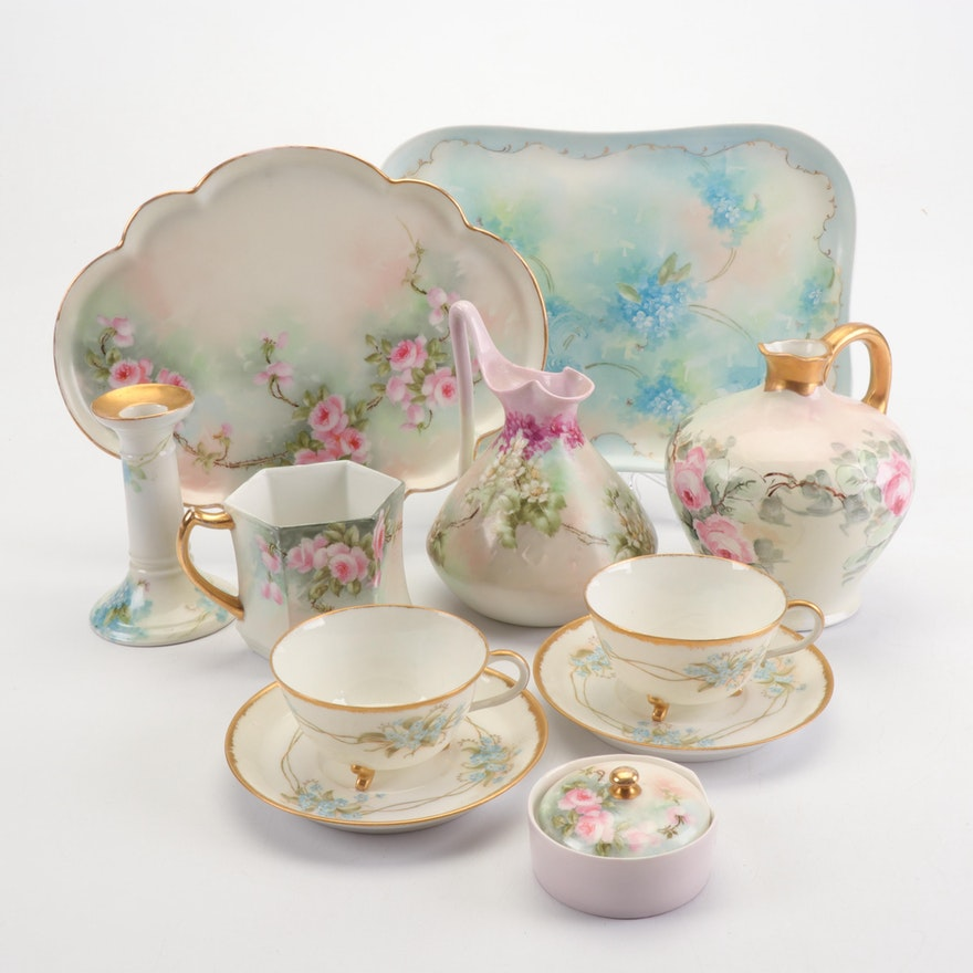 Limoges Porcelain Table Decor