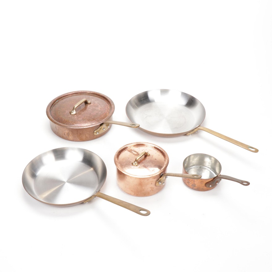 William-Sonoma Copper Cookware