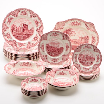 "Johnson Bros ""Old Britain Castles"" Transferware Dinnerware and Serving Pieces"