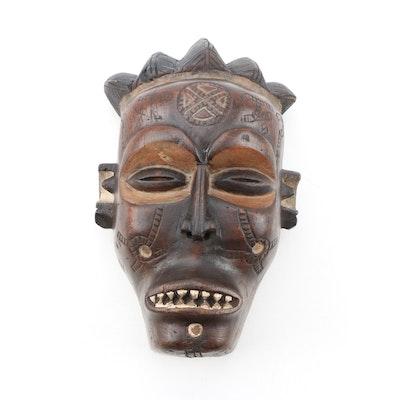 Decorative Wooden Chokwe Style Mask