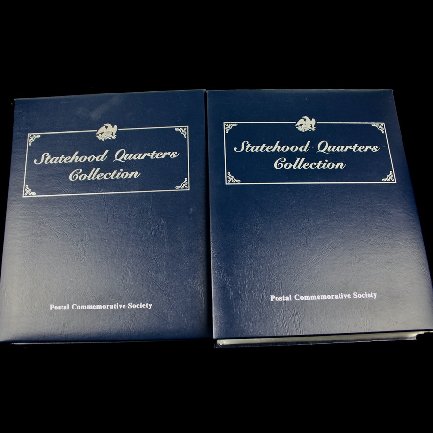 Statehood Quarters Collection Volume I and II