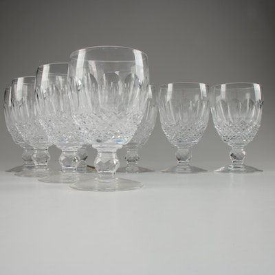"Waterford Crystal ""Colleen"" Water Goblets, Mid/Late 20th Century"