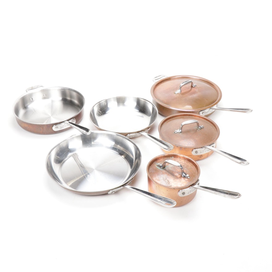 All-Clad Copper-Clad Steel Cookware
