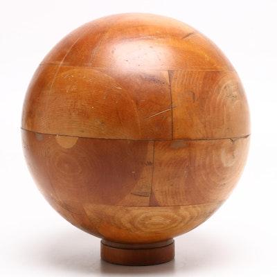 Industrial Wood Mold Sphere