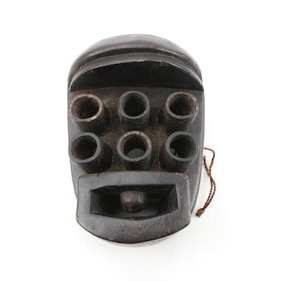Decorative Wooden Kru Style Mask
