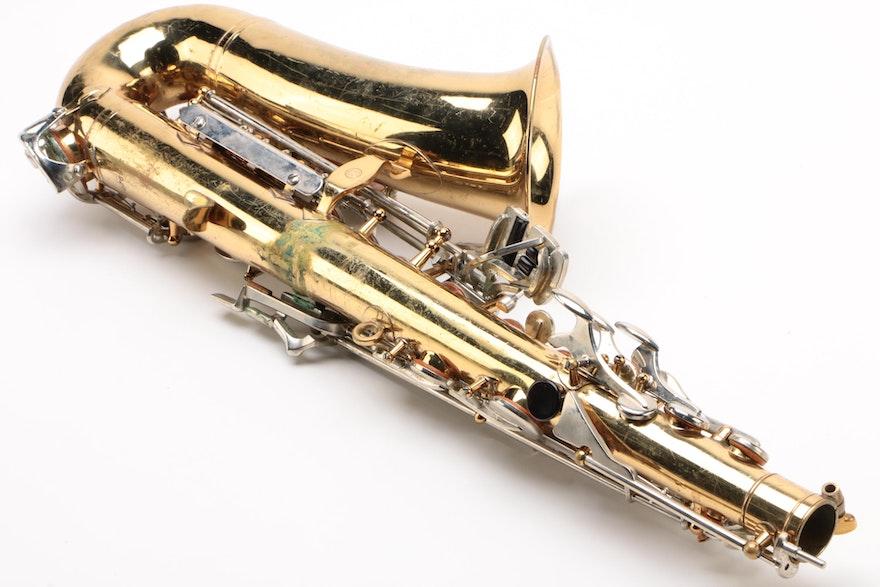 Selmer Bundy II Alto Saxophone With Case