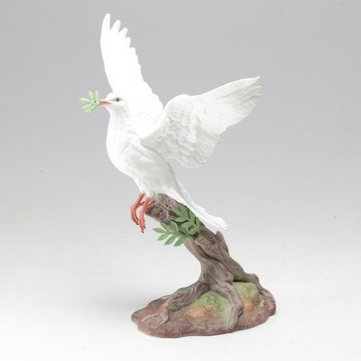 "Boehm ""Dove of Peace"" Limited Edition Porcelain Figurine"