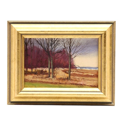 James DeVore Landscape Oil Painting