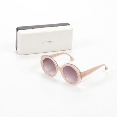 "Alice + Olivia ""Mulholland"" Sunglasses, Made in Japan"