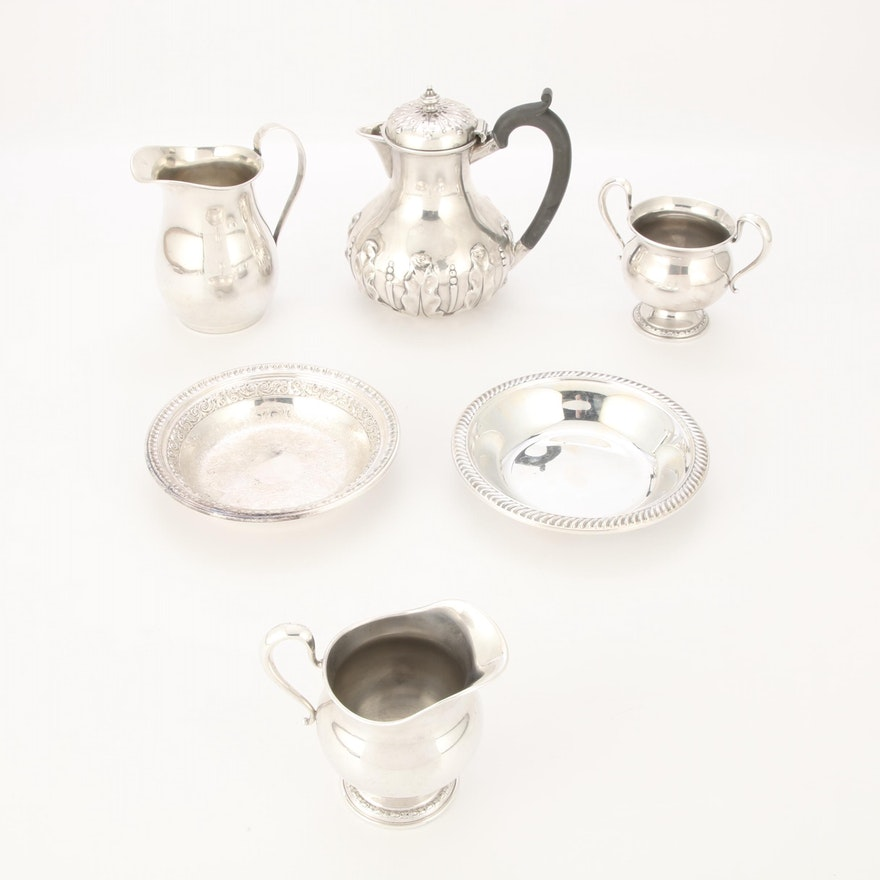 Sterling Silver Tableware, Antique and Vintage