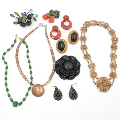 Vintage Jewelry Including Etrusceana