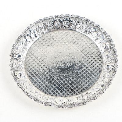 A. G. Schultz & Co. Repoussé Sterling Silver Charger, 1899–1950