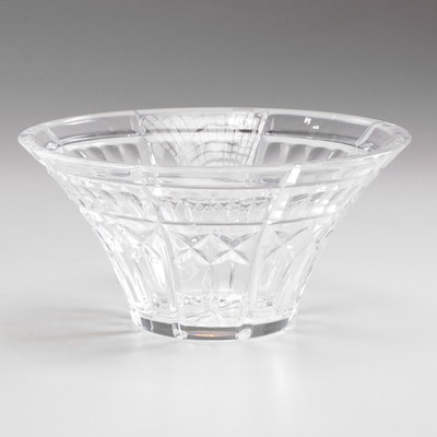 Waterford Crystal Welcome Bowl in Box, Contemporary