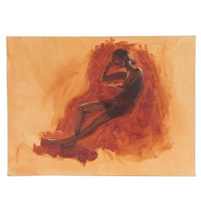 Marlowe Wesley Oil Painting Figure Study